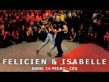 Isabelle &amp Felicien Kizomba Dance @ KIZMI 2016 C4 Pedro - Ceu