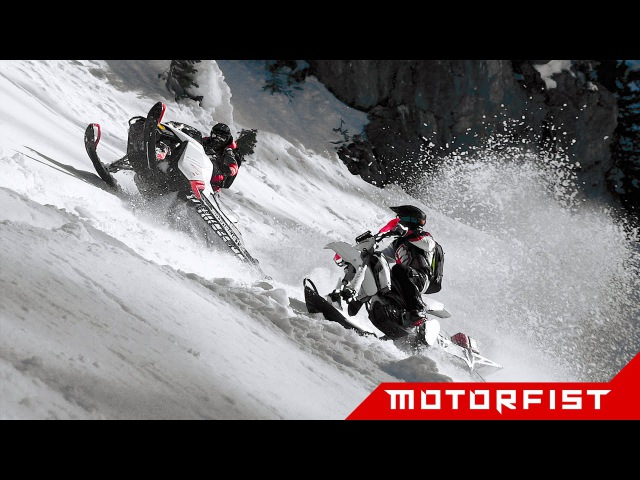 [MOTORFIST] - Snowbike VS Snowmobile