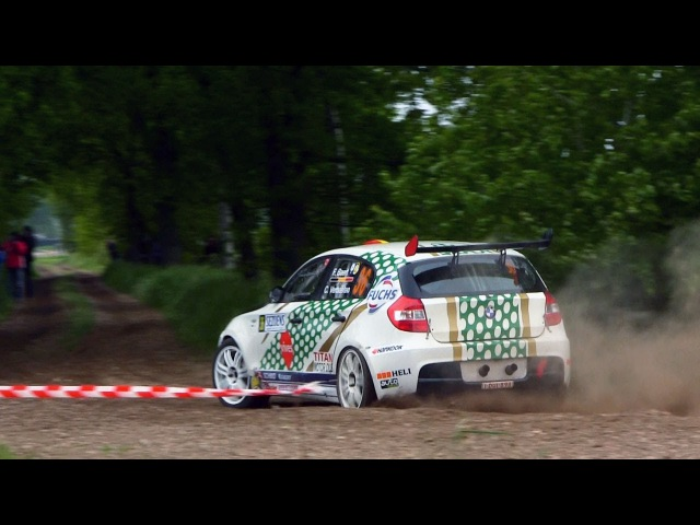 BMW E87 132i 130i rallycars - pure M-power sounds