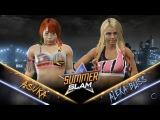 WWE 2K17 - Asuka vs Alexa Bliss Full Match (1080 60fps)