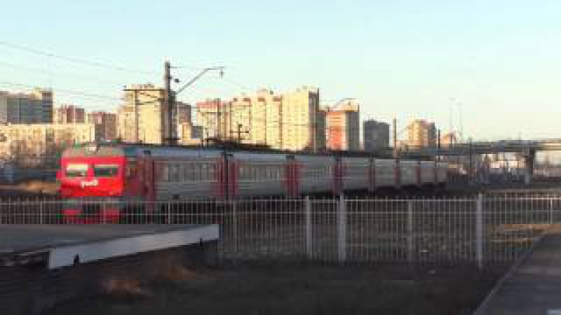 Электропоезд ЭР2Т-7204 EMU train ER2T-7204