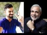 Virat Kohli went on to lose to the Indian Prime Minister Narendra Modi |virat kohli latest news