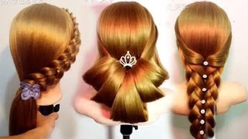 10 Amazing Hairstyles Tutorials Life Hacks for Girls🌸🌺❤