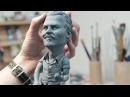 Johnny Depp with guitar / How to make Johnny Depp's sculpture