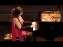 Brazilian pianist Eliane Rodrigues LITERALLY taking the performance below the stage