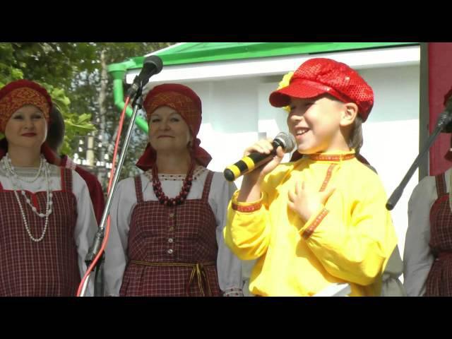 Шенкурский народный хор. Концерт в г Каргополе