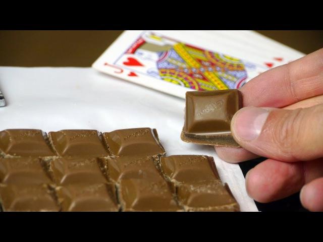Break Up Chocolate - Life Hack