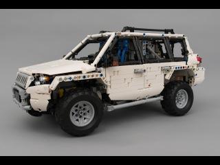 [MOC] LEGO® Technic RC Off-roader With SBrick