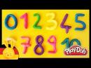 Zahlen lernen für Kinder - Deutsch Play Doh - Learn numbers in german - Titounis
