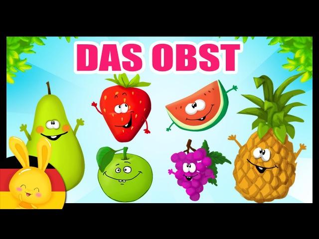 Das Obst auf deutsch lernen - German vocabulary - Fruits vegetables - Titounis
