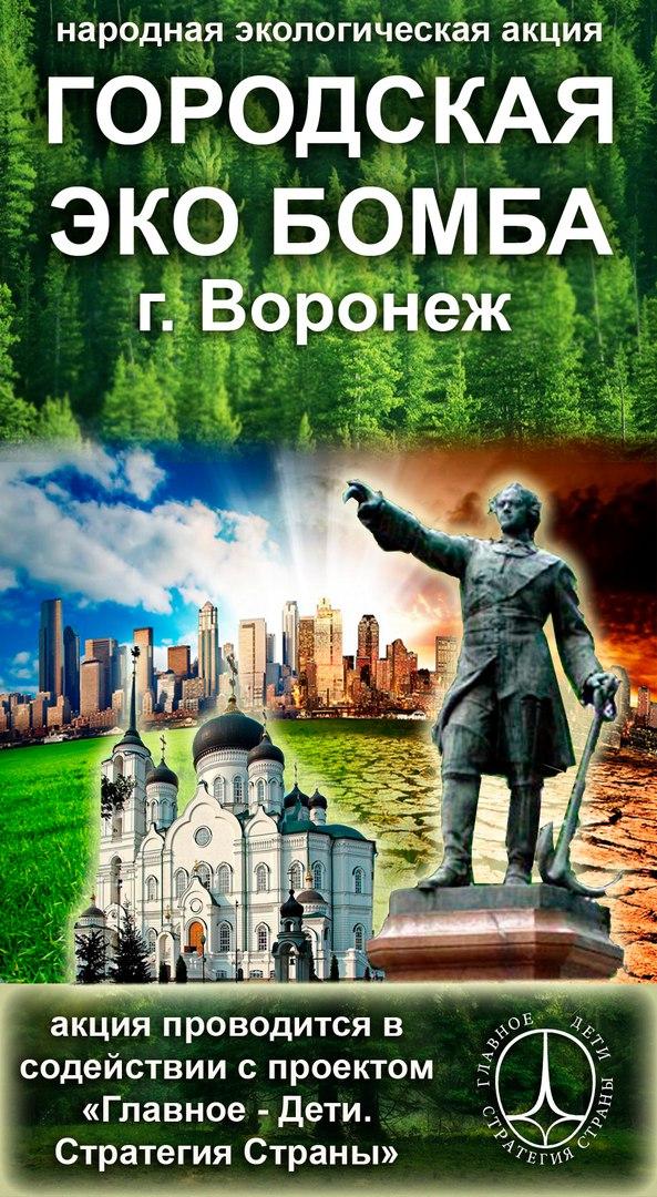 Афиша Воронеж Городская ЭКОбомба г. Воронеж