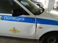 В Элисте нетрезвый водитель в ходе задержания повредил патрульный автомобиль