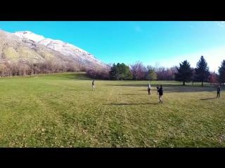Фантастические трюки с дроном