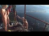 Купание голых девушек в бане. Часть 4
