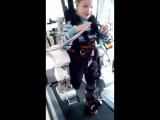 Занятия на роботизированном тренажере