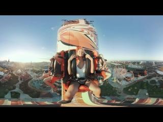 360 градусов на аттракционе Жар-птица в Сочи Парке