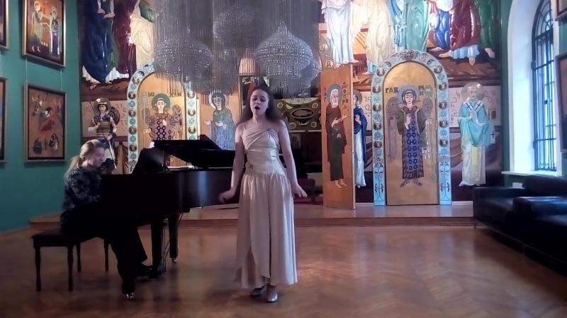 Песня Ольги из оперы А. Даргомыжского Русалка