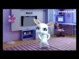 [v-s.mobi]Зайка Zoobe Черная кошка, белый кот.144p