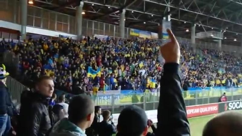 Единство националистов: так стадный инстинкт превращает людей в идиотов («Борисов-Арена», Украина — Беларусь, октябрь 2014)