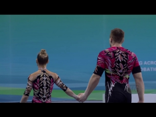 HIGHLIGHTS - 2016 Acrobatic Worlds, Putian (CHN) – Mixed Pairs - We are Gymnastics!
