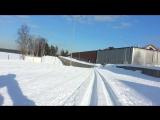 УТЦ, солнышко на беговых лыжах!