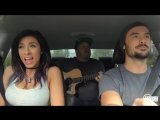 Крутые ребята, поют песни в машине(Justin Bieber - Love Yourself - When I Come Around MASHUP ) [720p]