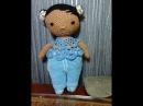 Милашка куколка Тильды, ч.2. Cutie doll Tilda, Part 2. Amigurumi. Crochet.