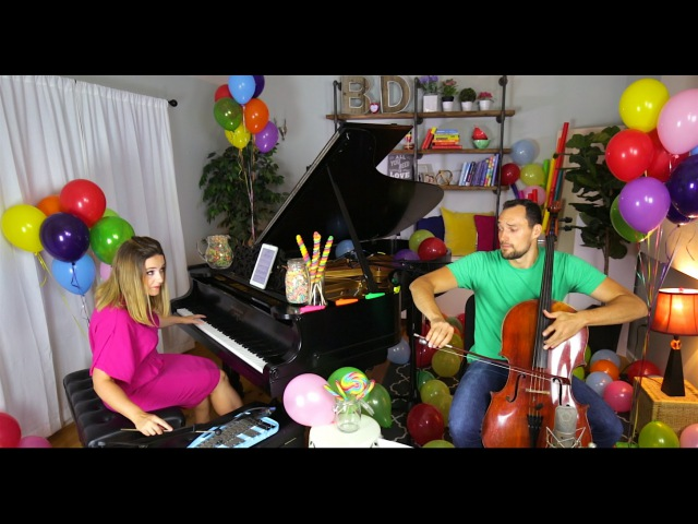 Pure Imagination (Willy Wonka and the Chocolate Factory Theme) - Cello Piano Cover by Brooklyn Duo