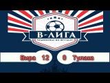 Чемпионат В-Лиги 5*5. Отборочный этап. 6 тур. Вира - Тулака 12-0 (6-0)