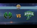 Carpe Diem vs UNIQUE - day 1 week 2 Season II Gold Series WGL RU 2016/17