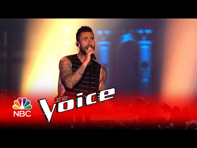Miley Cyrus Alicia Keys Adam Levine and Blake Shelton Dream On The Voice 2016