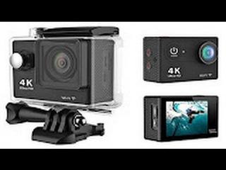 САМАЯ ДЕШЕВАЯ Экшен камера H9 Ultra HD 4K Сравнение с Go Pro 2