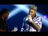 Adam Lambert - Another One Bites The Dust (Queen cover) - Crocus City Hall - Moscow - 18.04.16