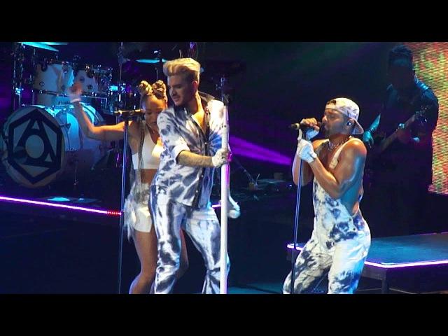 Adam Lambert – Lay Me Down/Shady/Fever – Copenhagen, Denmark, 25.04.2016