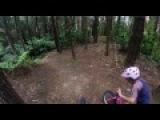 10 year old Erice shredding her little mountain bike!