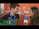 Iker Casillas and Sara Carbonero