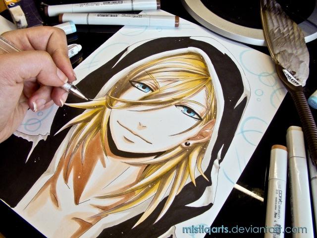 Drawing Uta no Prince-sama うたの☆プリンスさまっ♪ Ren Jinguji 神宮寺 レン