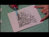 Tangel pattern Splice by Kathy, Paper n lace princess