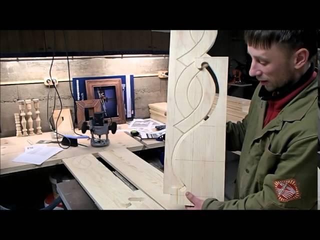 Наличники-2. Боковины. Нанесение декора на деревянную заготовку по шаблону