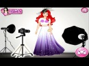 Chị Bí Đỏ trang điểm cho Công chúa Ariel để chụp ảnh ♥ Trò chơi Trang điểm