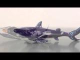 Shark Faberge style Trinket Box by Keren Kopal Swarovski Crystal
