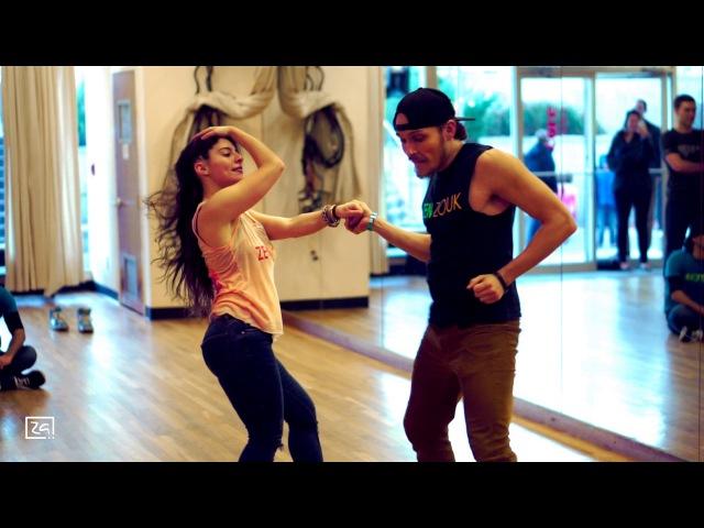 Ry'El (Henry Velandia) Jessica Lamdon - LambaZouk Demo 1 - Belle allé - Jean-Michel Rotin