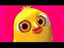 El Pollito Pio - The little chick cheep (Version en ingles)