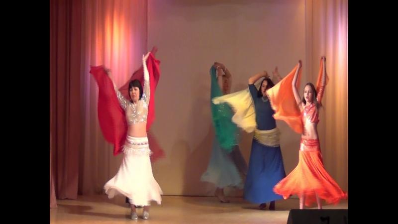 Восточный танец с вейлами 15.04.2017 Наргиза Нижний Тагил