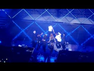 160807 Dahyun, Tzuyu - Still Alive @ JYP NATION Concert, Day 2