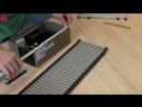 Резка и ремонт решётки для внутрипольного конвектора