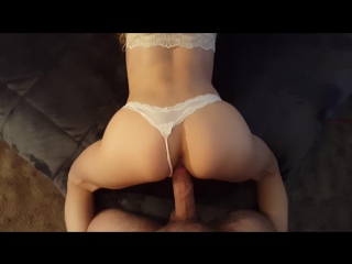 White panties pov girlfriend doggy  [amateur, big dick, brunette, pov, exclusive, verified amateurs, hd ]