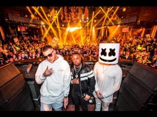 DJ Snake x Marshmello x Tchami x Malaa at Las Vegas and New York x Pardon My French Tour Snapchat #92