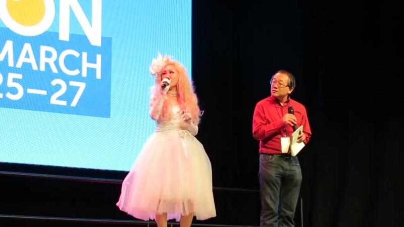 Takarano Arika at the Opening Ceremony of「Anime Boston 2016」