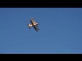 Первый удачный полет биплана. Механик (авамоделст Олексй Приходько)